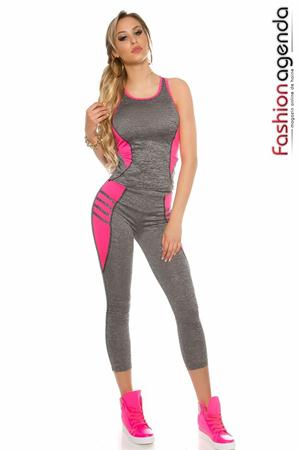 Set Fitness Power Fuchsia