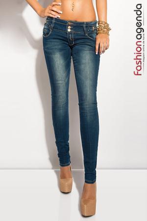 Jeans Prior Bleumarin