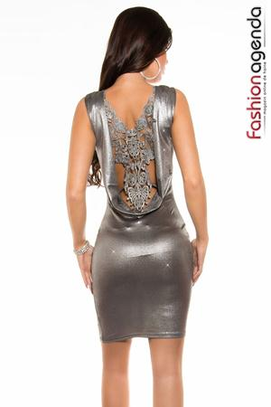 Rochie Hally Silver