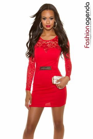 Rochie de Club Jewel Red