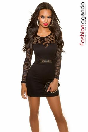 Rochie de Club Jewel Black