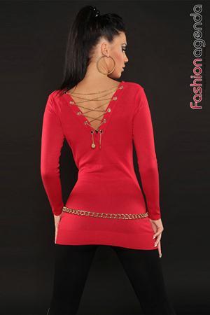 Pulover Francine Red