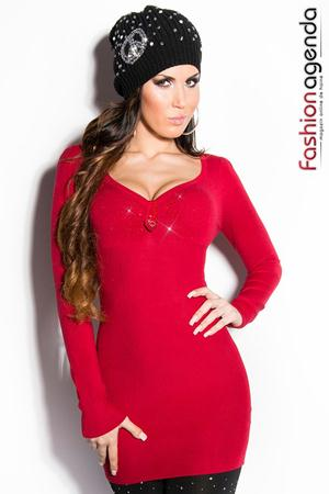 Pulover Kamy Red