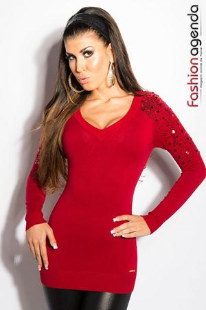 Pulover Riva Red