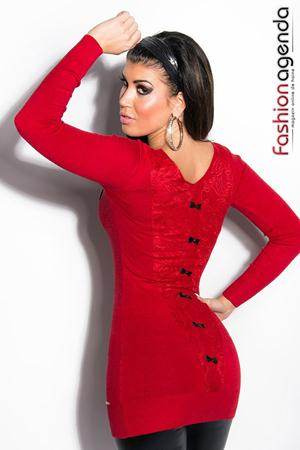 Pulover Elegant Vonda Red