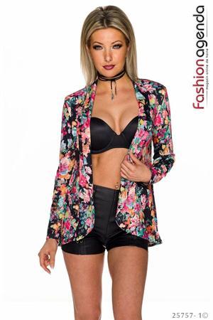 Sacou Flower Britney Black