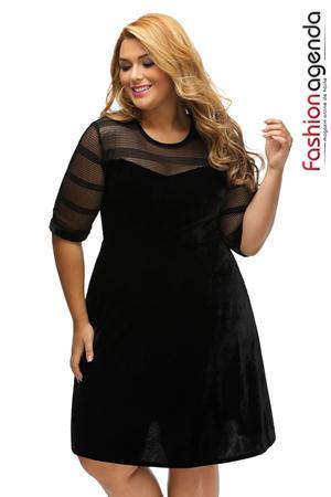 Rochie XXL Desire 95 Neagra