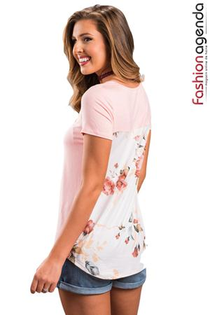 fashionagenda.ro Top Rose Touch