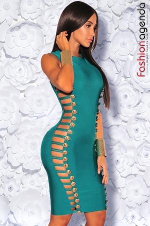 Rochie Bandage Premium 02 Smarald