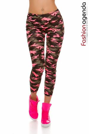 Colanti Sport Camo Pink
