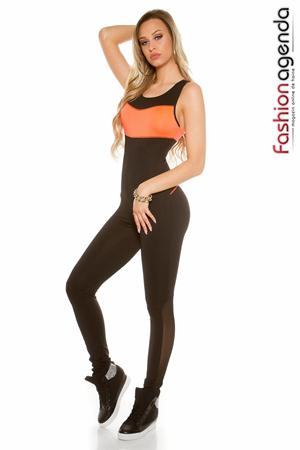 Set Fitness Beauty Orange