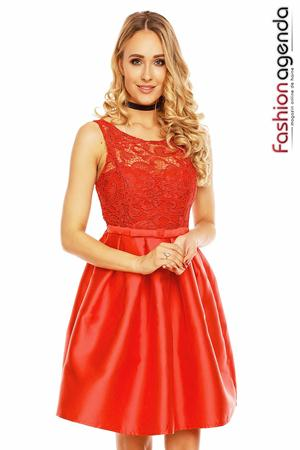 Rochie Temptatious Lace Red