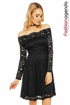 fashionagenda.ro Rochie Heavenly Lace Neagra