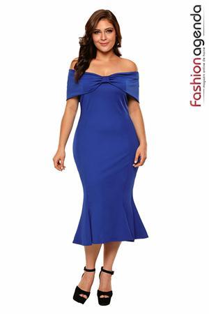 Rochie XXL Desire 107 Blue
