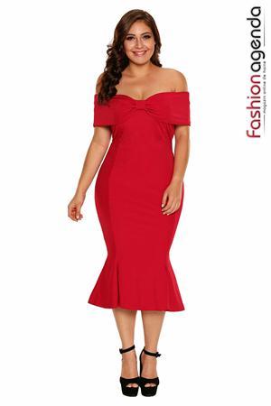 Rochie XXL Desire 107 Red
