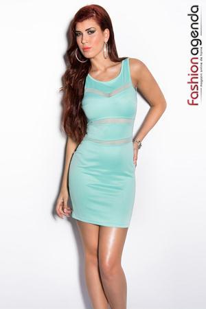 Rochie Clorinda Turcoaz