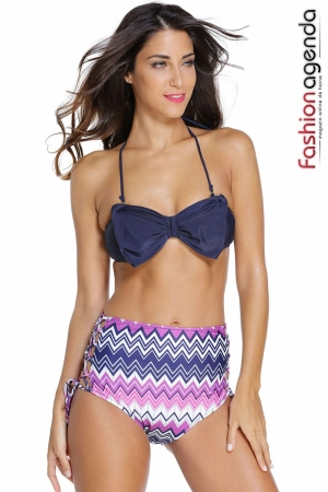 Costum de Baie Navy Bow