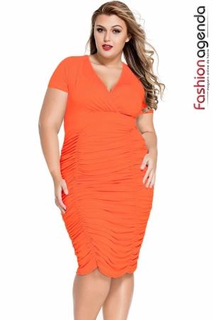 Rochie XXL Desire 111 Orange