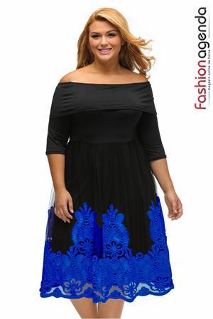 Rochie XXL Desire 84 Blue