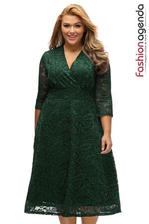 Rochie XXL Desire 114 Verde