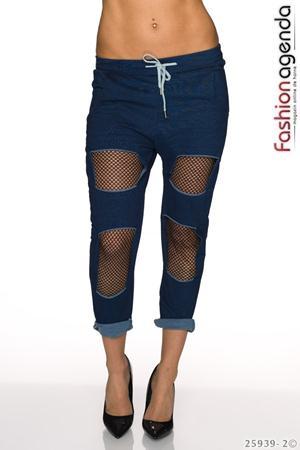 Pantaloni Blue Magnet