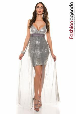 Rochie Sequin Silver