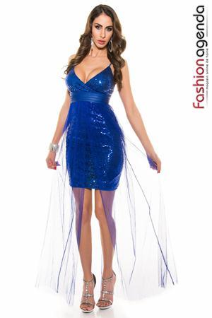 Rochie Sequin Blue
