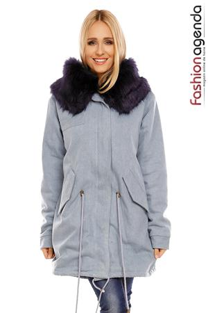 Jacheta Edith Fur Navy