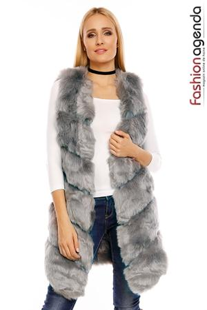 Vesta Grey Fur