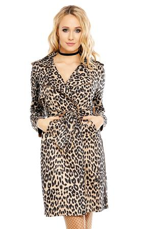 Trench Leopard Print