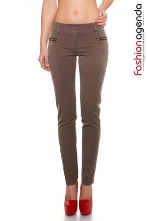 Pantaloni Mylon Cappuccino