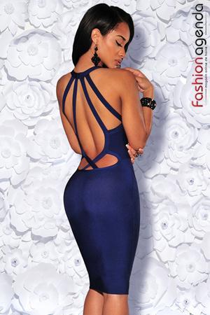 Rochie Bandage Premium 08 Bleumarin