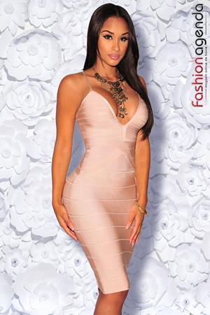 Rochie Bandage Premium 09 Nude
