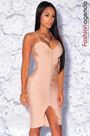 Rochie Bandage Premium 10 Nude