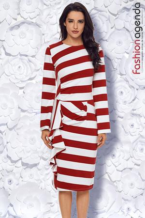 Rochie Cathy Red