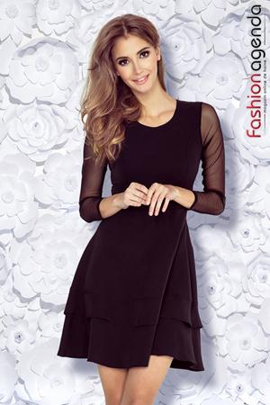 Rochie Clos Boemia 27 Neagra