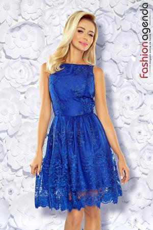 Rochie Eleganta Boemia 23 Albastra
