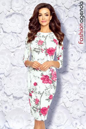 Rochie cu Imprimeu Floral Destiny 14