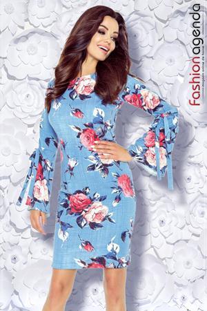 Rochie cu Imprimeu Floral Destiny 15