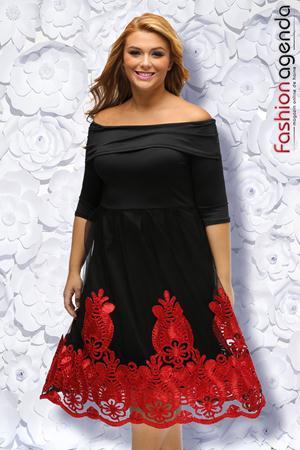Rochie XXL Desire 84 Red