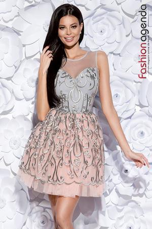 Rochie Beauty Grey 05