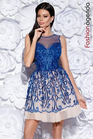 Rochie Beauty Blue 05