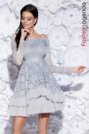 Rochie Beauty Gri 06