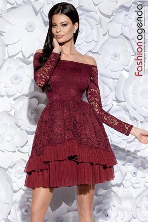 Rochie Beauty Bordo 06