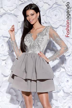 Rochie Beauty Gri 07