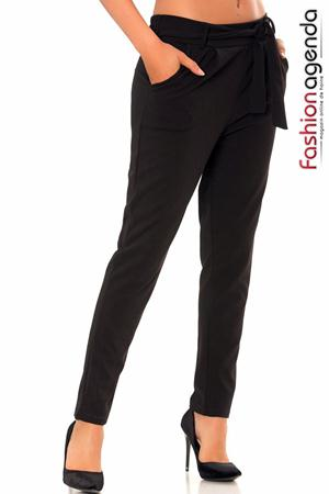 Pantaloni Voorn Negri