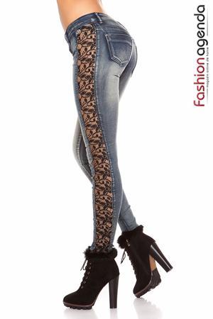 Jeans Lace Sides