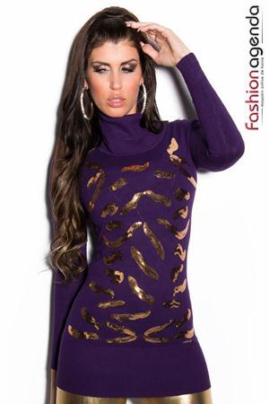 Pulover Flame Violet