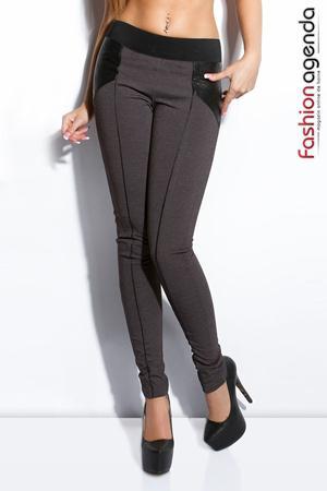 Pantaloni Clover Gri