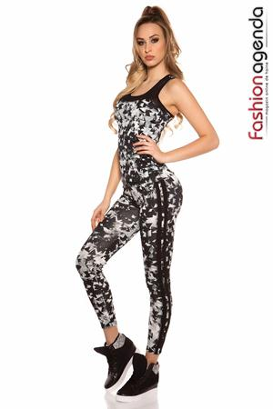Set Fitness Twist Negru